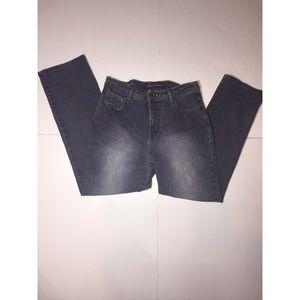 Gloria Vanderbilt Dark Wash Straight Leg Jeans